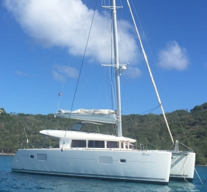 2010 Lagoon 400 in the BVI